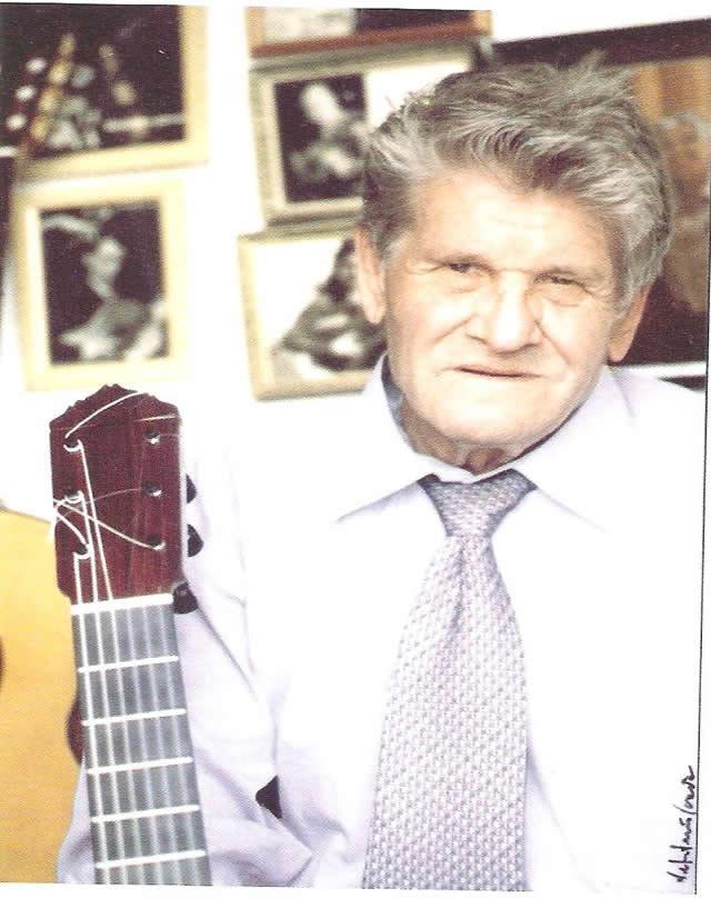 Luthier Gerundino Fernández hijo